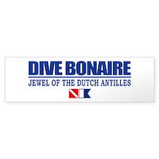Dive Bonaire Bumper Bumper Sticker