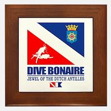 Dive Bonaire Framed Tile