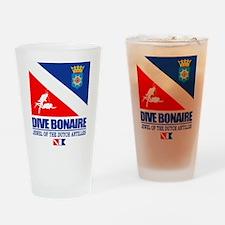 Dive Bonaire Drinking Glass