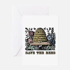 Save The Bees Greeting Card