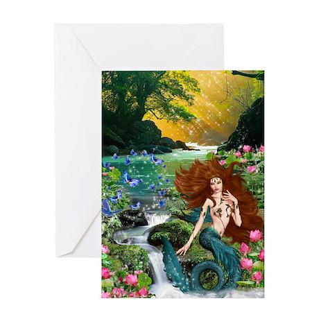 lotus sparkle Greeting Card