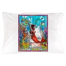 orange under sea12 Pillow Case