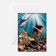 tiger swordfish Greeting Card