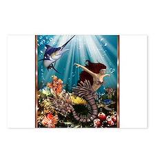 tiger swordfish Postcards (Package of 8)