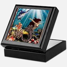 tiger swordfish Keepsake Box