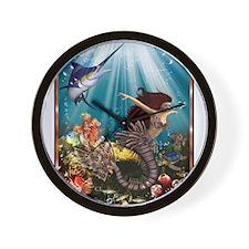 tiger swordfish Wall Clock