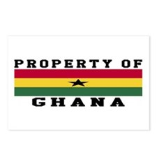 Property Of Ghana Postcards (Package of 8)