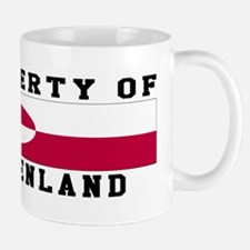 Property Of Greenland Mug
