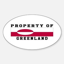 Property Of Greenland Decal