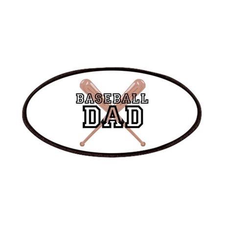 Baseball Dad Patches