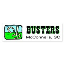 Pitchin' At Busters Bumper Bumper Sticker