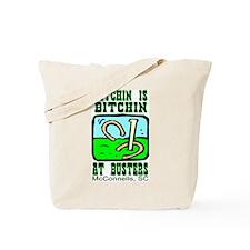 Pitchin' At Busters Tote Bag