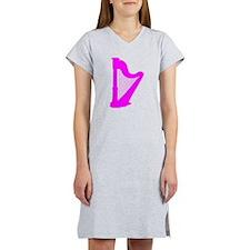 Pink Harp Women's Nightshirt