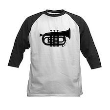 Black Pocket Trumpet Baseball Jersey