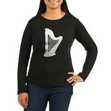 White Harp Long Sleeve T-Shirt