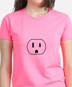 Electrical Outlet T-Shirt