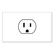 Electrical Outlet Decal