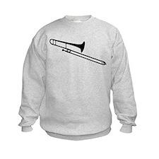 Black Trombone Sweatshirt