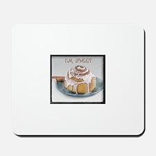 Sweet Cinnamon Roll Mousepad