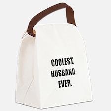 Coolest Husband Ever Canvas Lunch Bag