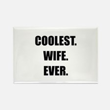 Coolest Wife Ever Rectangle Magnet (10 pack)