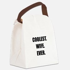 Coolest Wife Ever Canvas Lunch Bag