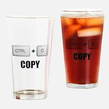 Copy Twins Drinking Glass