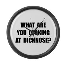 Dicknose Large Wall Clock