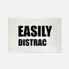 Easily Distracted Rectangle Magnet (10 pack)