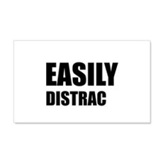 Easily Distracted Wall Decal