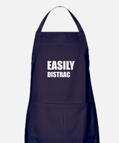 Easily Distracted Apron (dark)