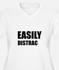 Easily Distracted Plus Size T-Shirt