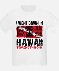 WENT DOWN IN HAWAII - WHITE T-Shirt