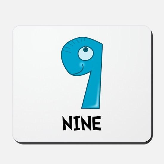 Number Nine Mousepad