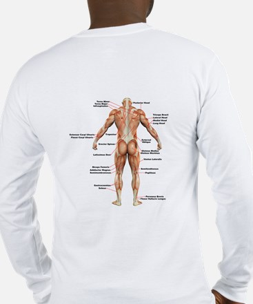 Muscle Anatomy Long Sleeve T-Shirt