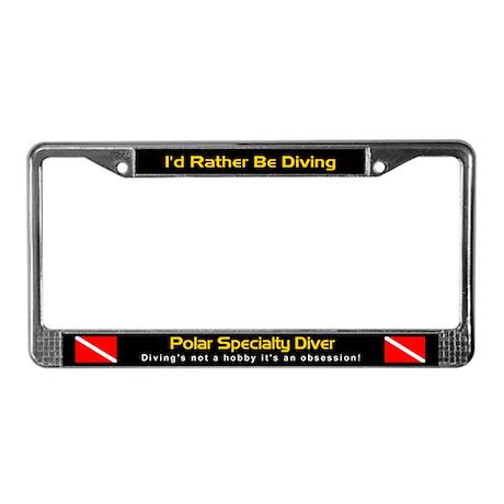 Polar Speciality Diver, License Plate Frame