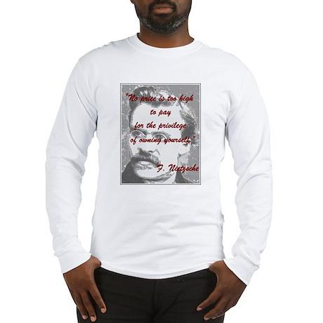 Nietzsche - Long Sleeve T-Shirt