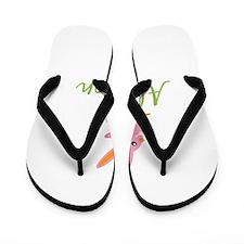 Easter Bunny Allyson Flip Flops