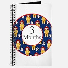3 Months Fireman Milestone Journal
