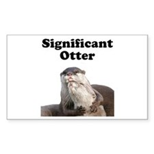 Significant Otter Decal