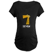 Number Seven Maternity T-Shirt