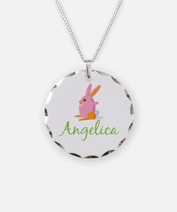 Easter Bunny Angelica Necklace