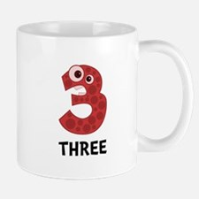 Number Three Mug