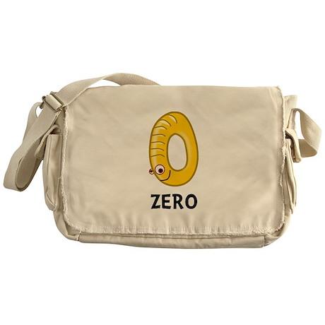 Number Zero Messenger Bag