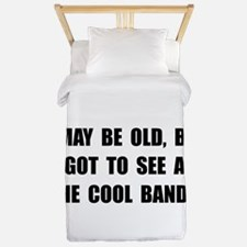Old See Cool Bands Twin Duvet