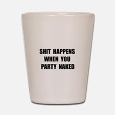 Party Naked Shot Glass