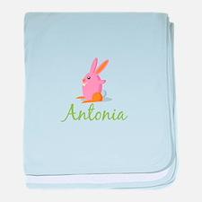 Easter Bunny Antonia baby blanket
