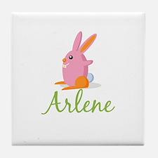 Easter Bunny Arlene Tile Coaster