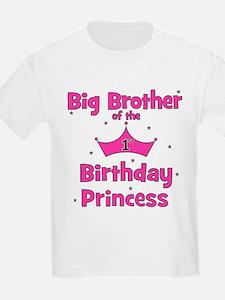 Big Brother 1st Birthday Prin T-Shirt
