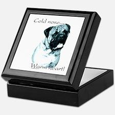 Bullmastiff Warm Heart Keepsake Box